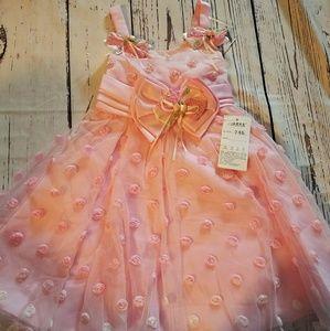 Other - NWT PINK BEAUTIFUL GIRLS DRESS